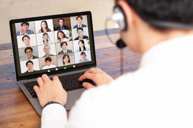 オンラインミーティングのイメージ