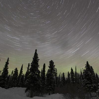 北極星を中心に回る星